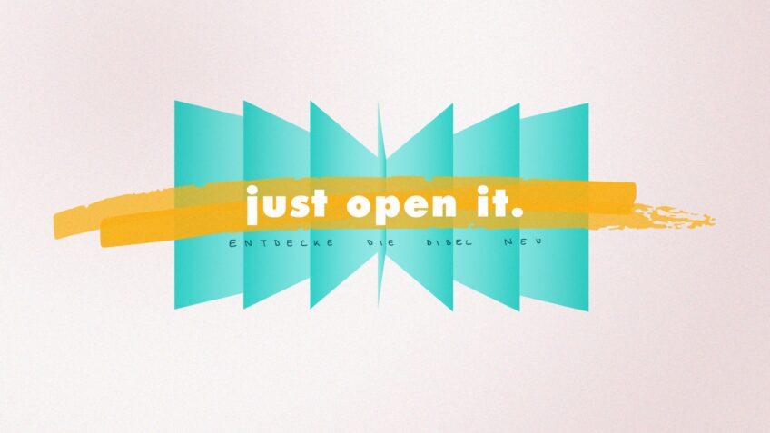 Just open it